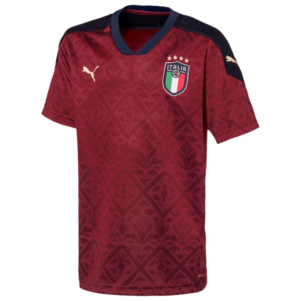 Puma Italy Goalkeeper 2020 Junior 140 cm Cordovan / Peacoat