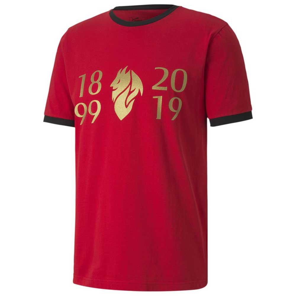 Puma Ac Milan Fan 120 19/20 M Tango Red / Victory Gold