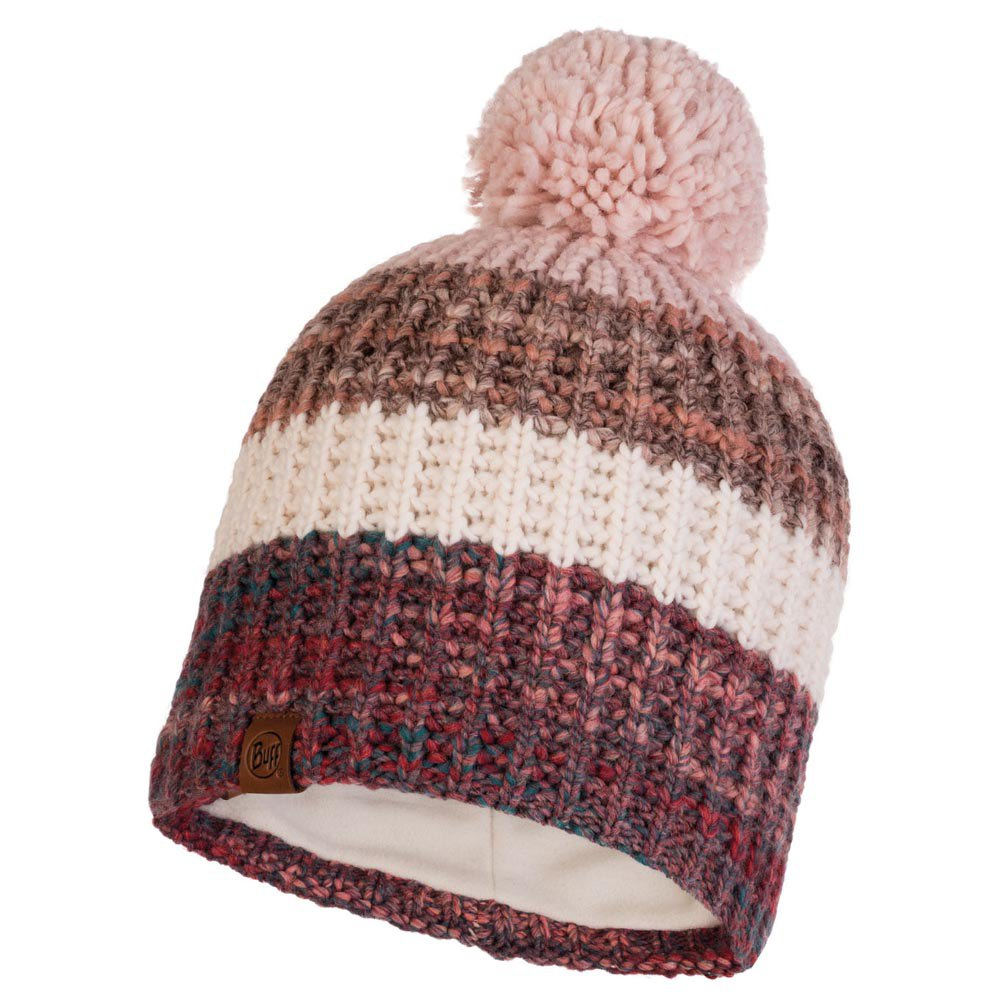 Buff ® Knitted & Polar Hat Alina One Size Blossom Red