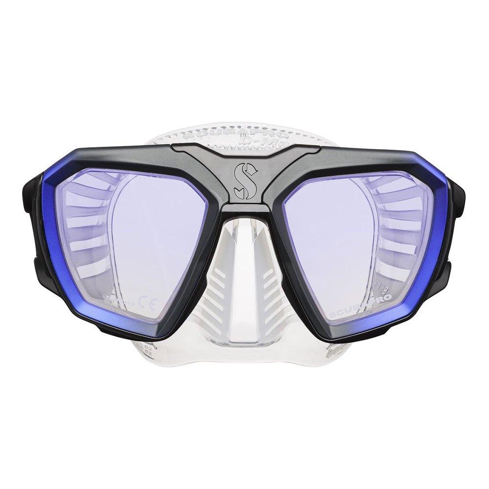 Scubapro D-series D420 Tauchermaske Blue Transparent Tauchmasken D-series D420 Tauchermaske