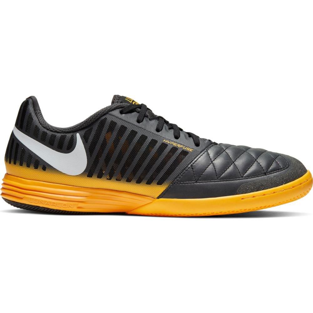 Nike Lunargato Ii Ic EU 40 Dark Smoke Grey / White / Laser Orange / Black