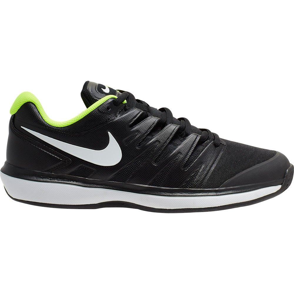 Nike Court Air Zoom Prestige Clay EU 40 1/2 Black / White / Volt