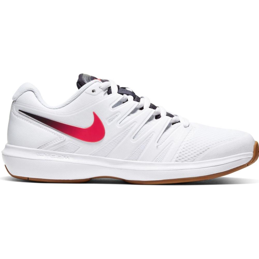Nike Court Air Zoom Prestige Hard Court EU 38 1/2 White / Laser Crimson / Gridiron / Wheat