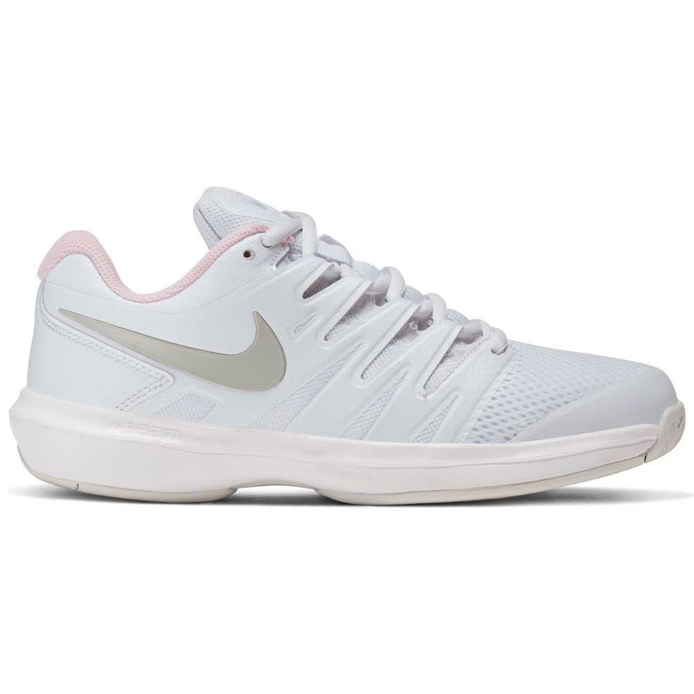 Nike Court Air Zoom Prestige Hard Court EU 38 1/2 White / Photon Dust / Pink Foam