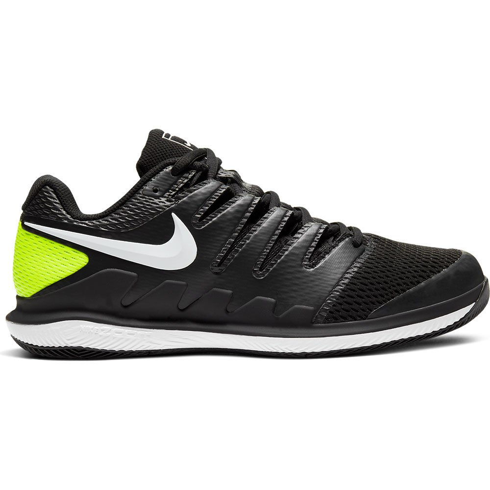 Nike Court Air Zoom Vapor X Hard Court EU 42 1/2 Black / White / Volt