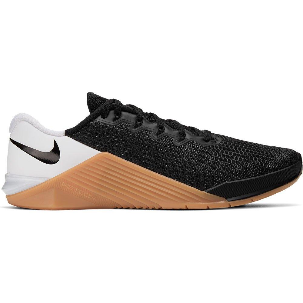 Nike Metcon 5 EU 44 Black / Black / White / Gum Med Brown