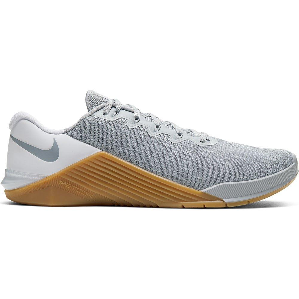 Nike Metcon 5 EU 44 1/2 Wolf Grey / Wolf Grey / White / Gum Med Brown