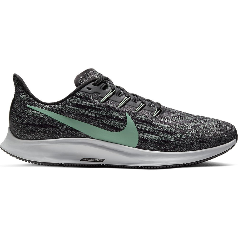 Nike Air Zoom Pegasus 36 EU 42 Black / Silver Pine / Wolf Grey