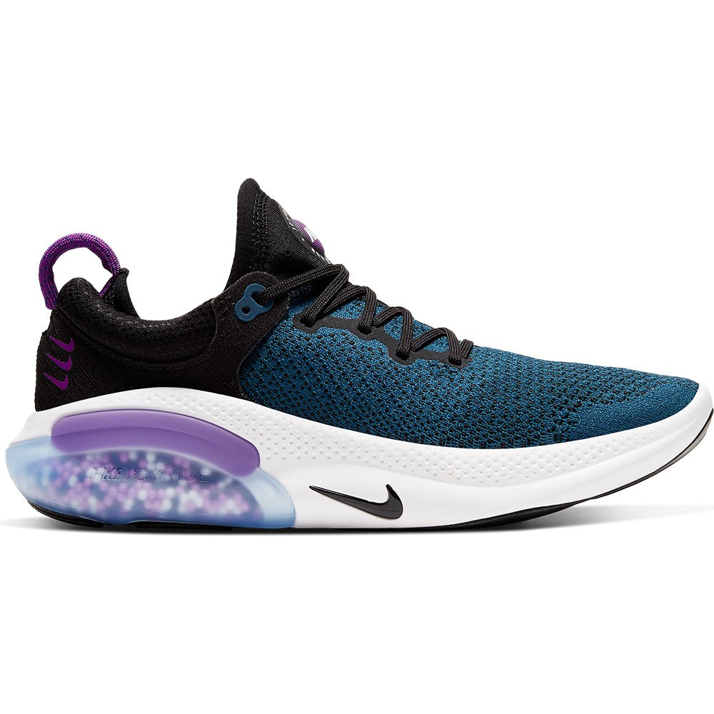 Nike Joyride Run Flyknit EU 38 Black / Black / Vivid Purple / Valerian Blue