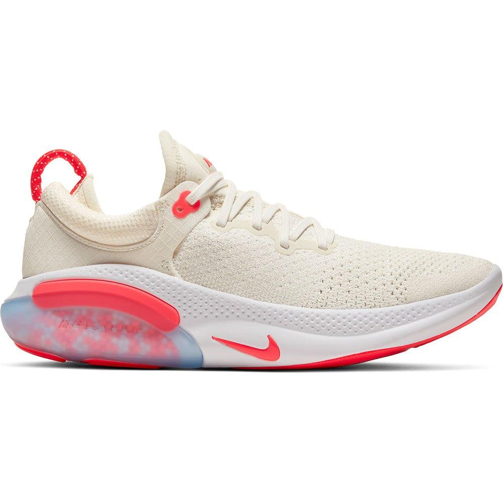 Nike Joyride Run Flyknit EU 37 1/2 Sail / Laser Crimson / White