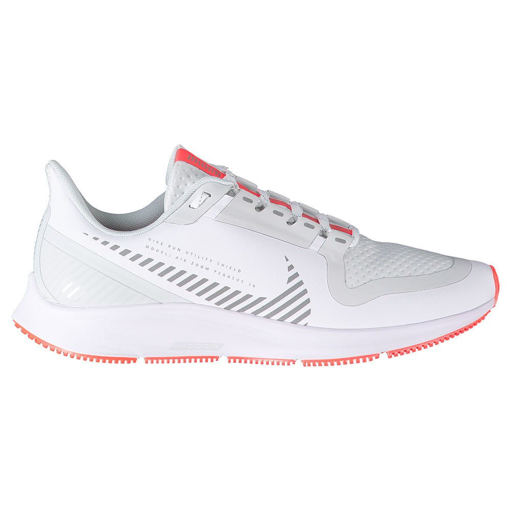 Nike Air Zoom Pegasus 36 Shield EU 42 White / Metallic Silver / Photon Dust