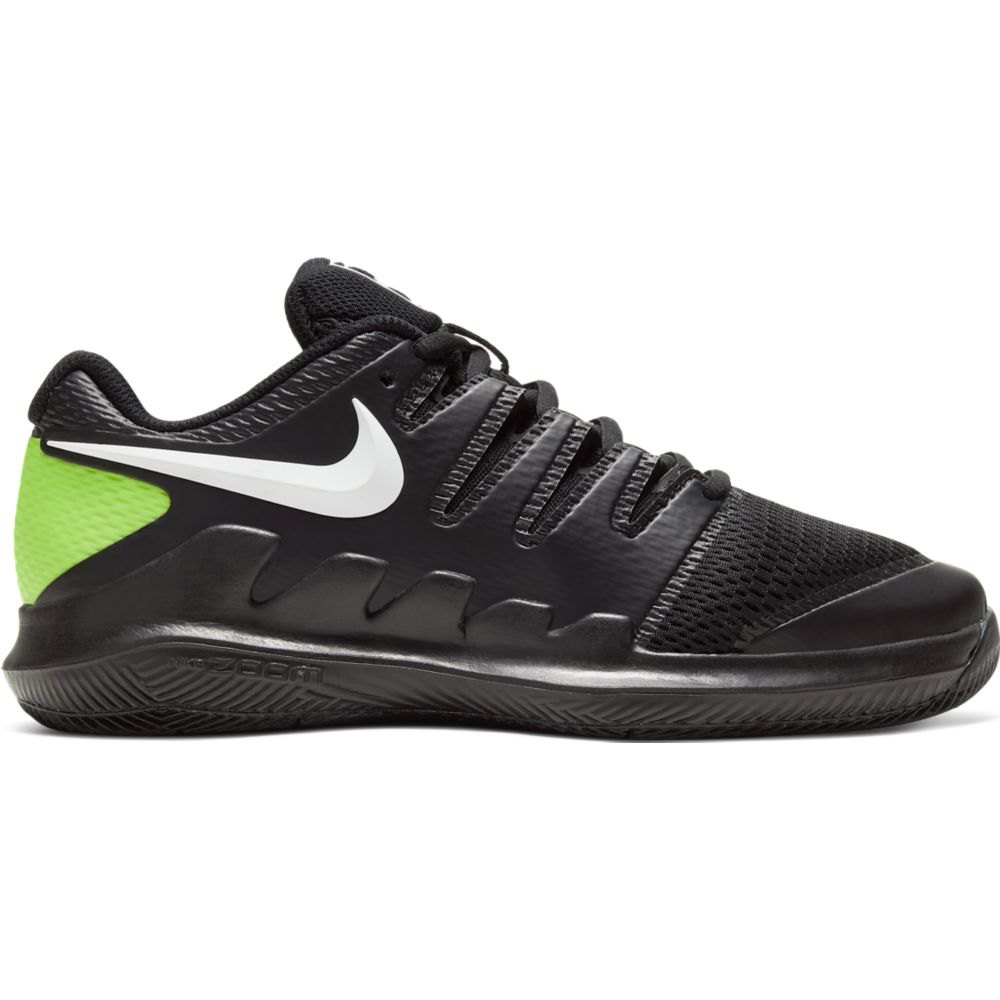Nike Court Vapor X EU 33 Black / White / Volt