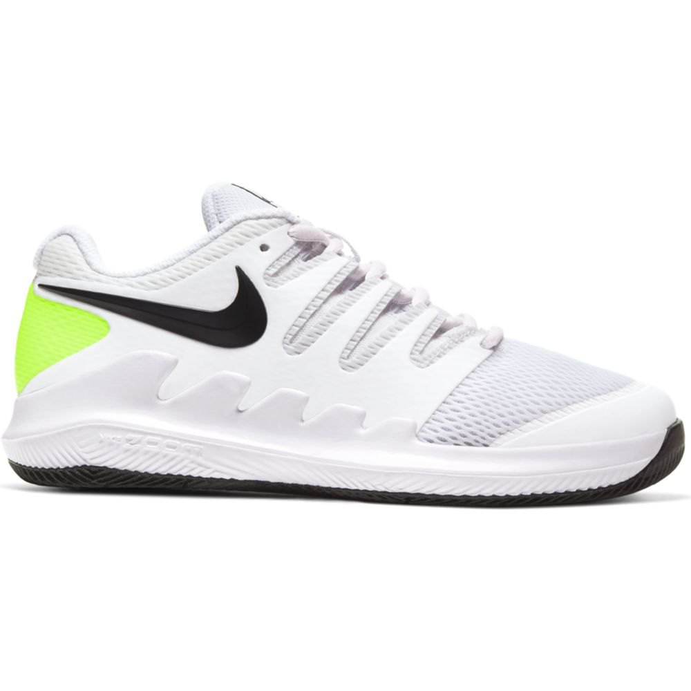 Nike Court Vapor X EU 36 White / Black / Volt