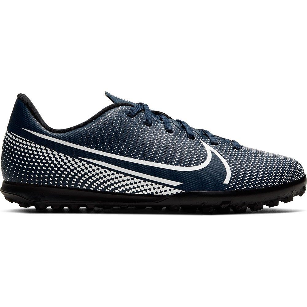Nike Mercurial Vapor Xiii Club Tf Football Boots EU 36 Midnight Navy / White / Black