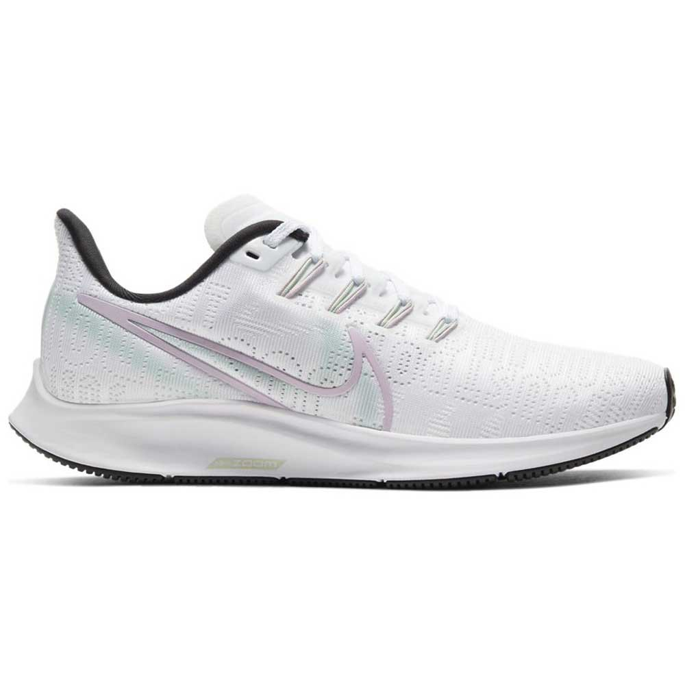 Nike Air Zoom Pegasus 36 Premium EU 42 White / Iced Lilac / Black / Pistachio Frost