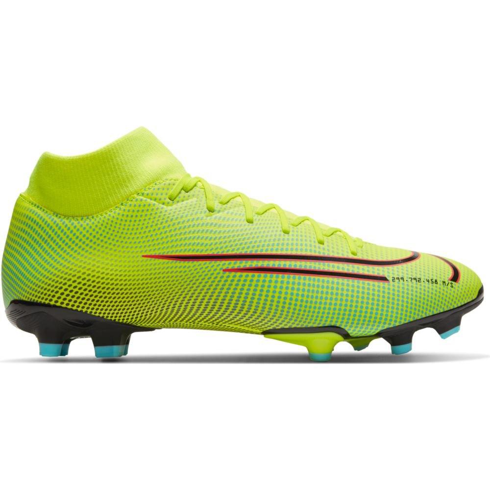 Nike Mercurial Superfly Vii Academy Mds Fg/mg EU 42 Lemon Venom / Black / Aurora Green