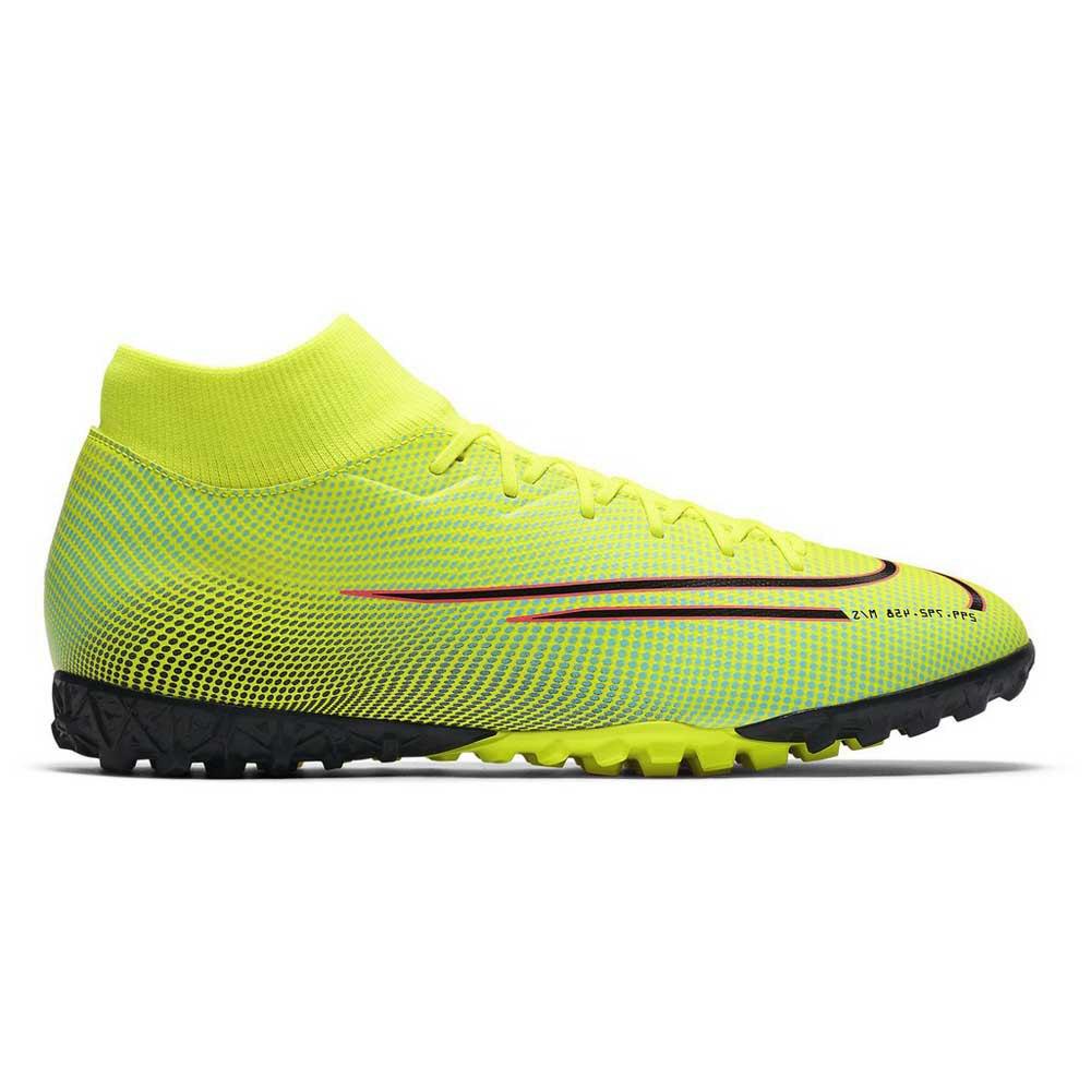 Nike Mercurial Superfly Vii Academy Mds Tf EU 44 Lemon Venom / Black / Aurora Green