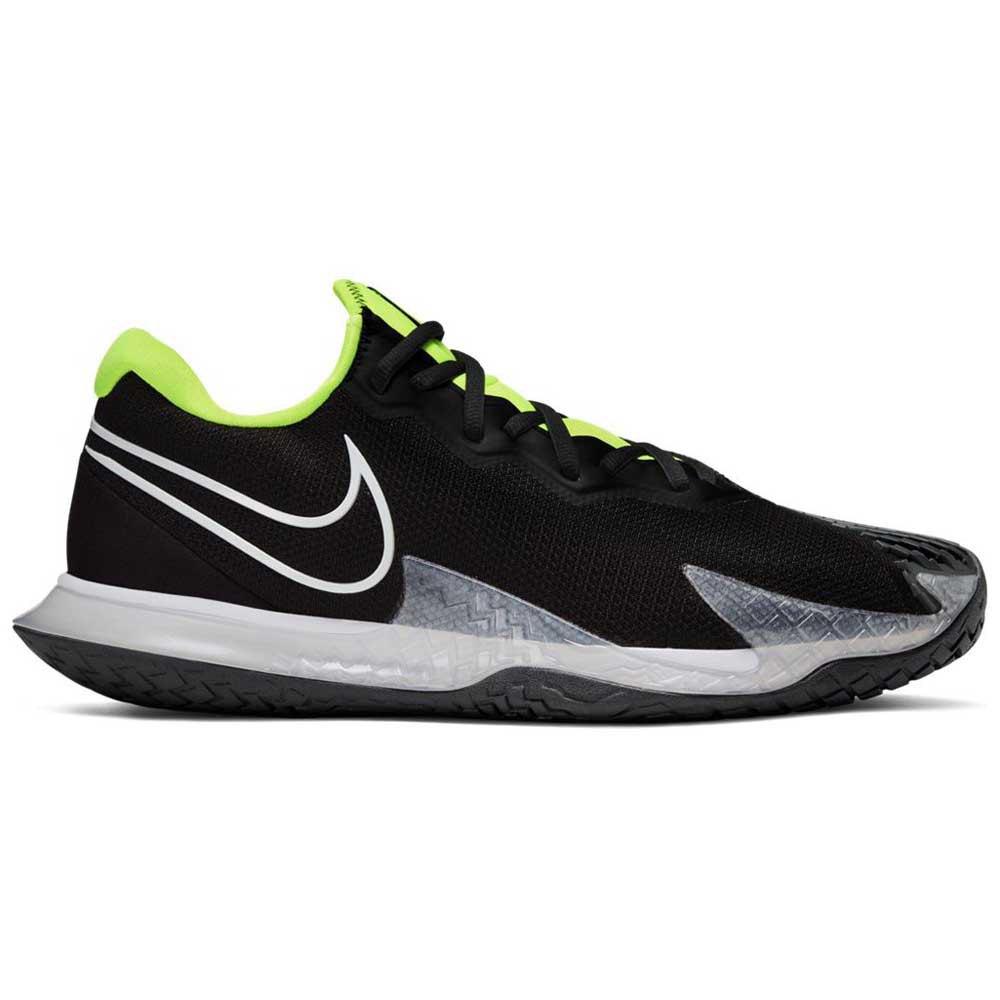 Nike Court Air Zoom Vapor Cage 4 Hard Court EU 45 1/2 Black / White / Volt / Dark Smoke Grey