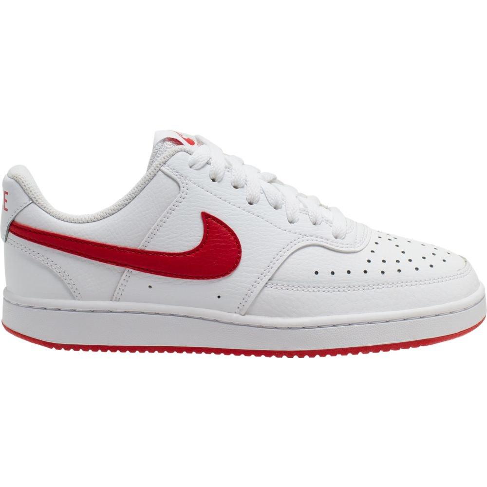 Nike Court Vision Low EU 38 White / University Red / White