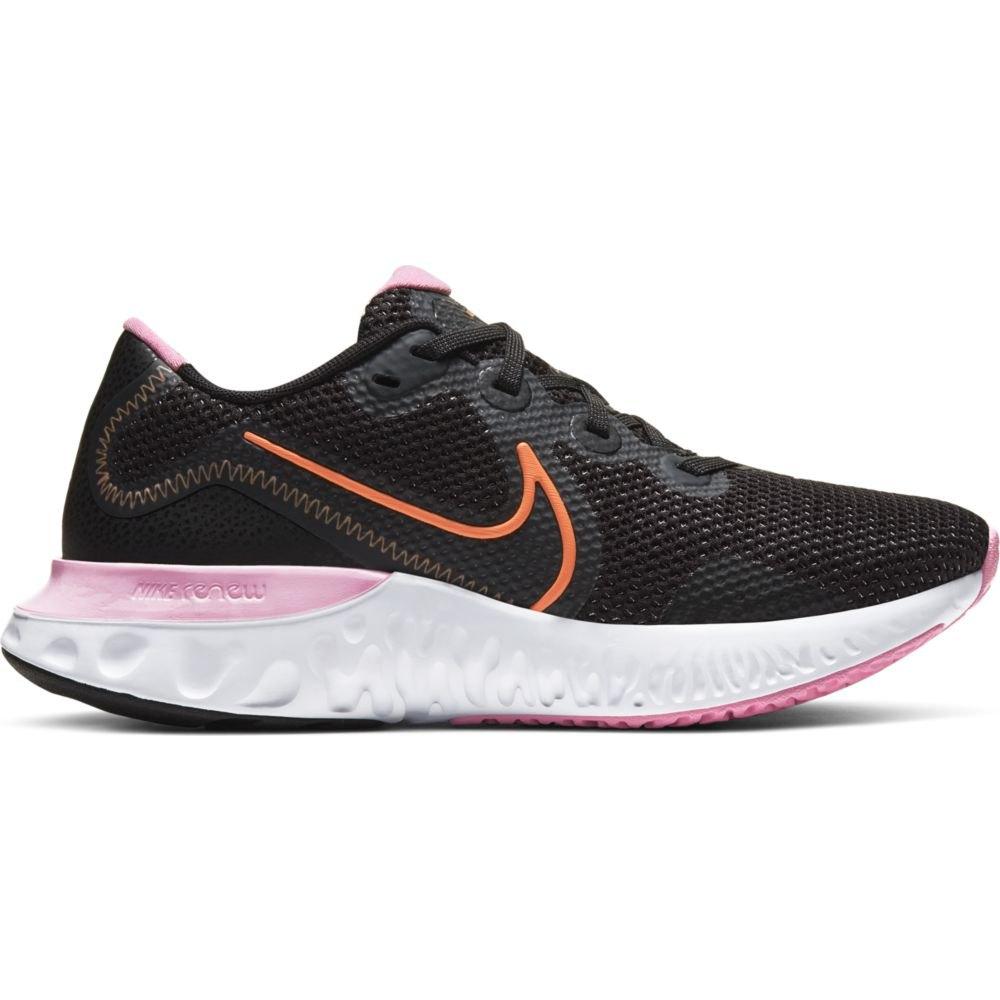 Nike Renew Run EU 40 1/2 Black / Orange Pulse / White / Pink