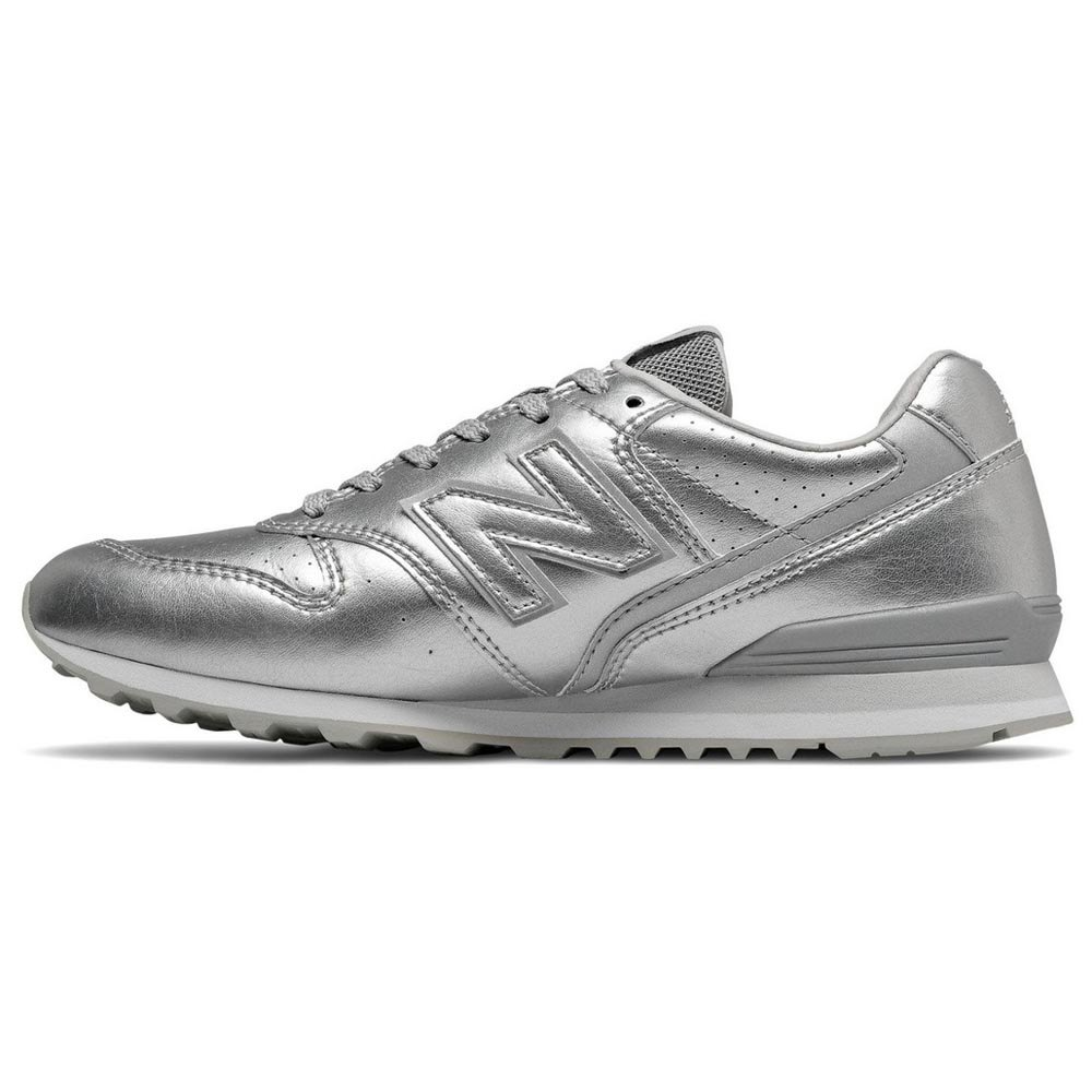 New-Balance-996-V2-Classic-Argento-T97617-Sneakers-Donna-Argento-Sneakers miniatura 7