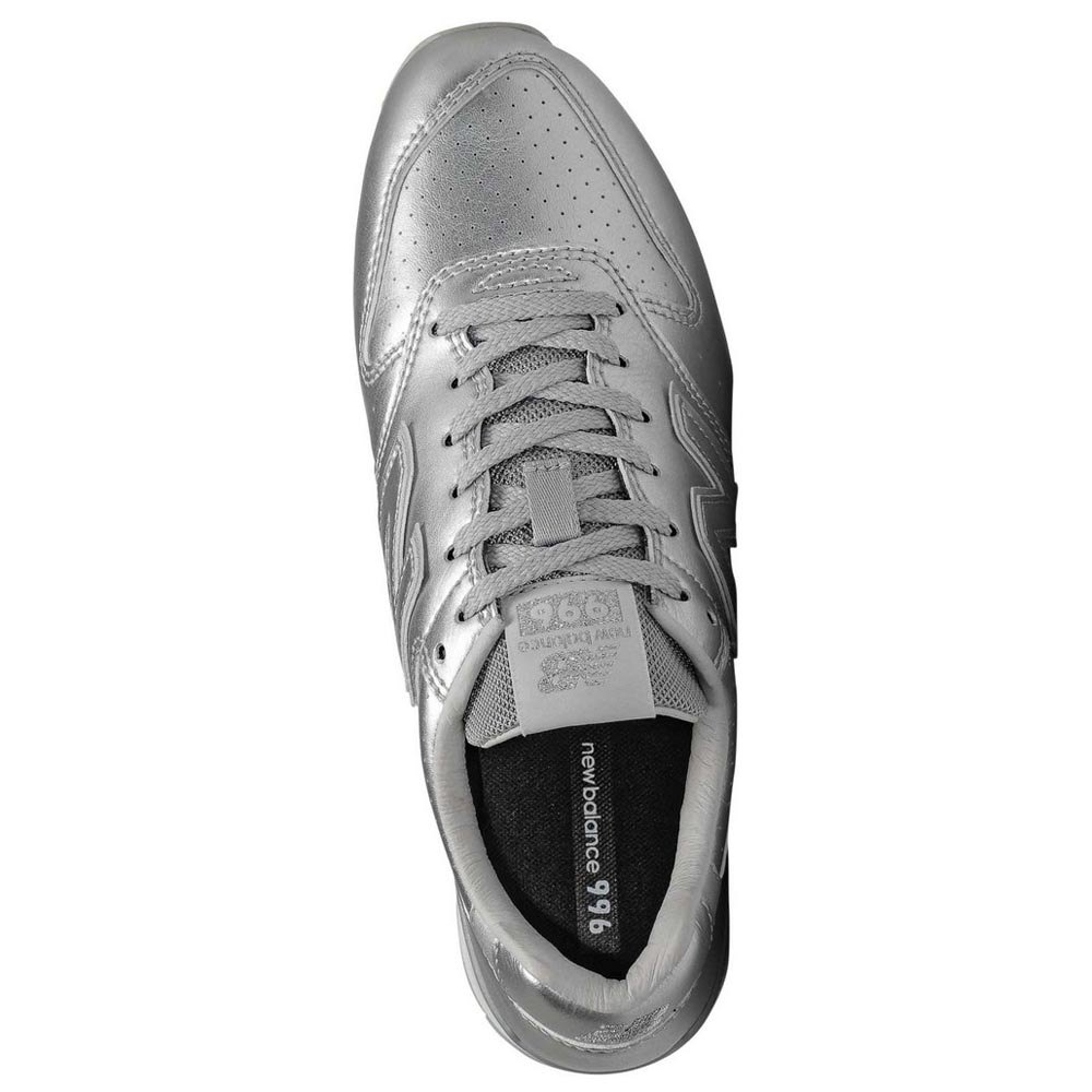 New-Balance-996-V2-Classic-Argento-T97617-Sneakers-Donna-Argento-Sneakers miniatura 8