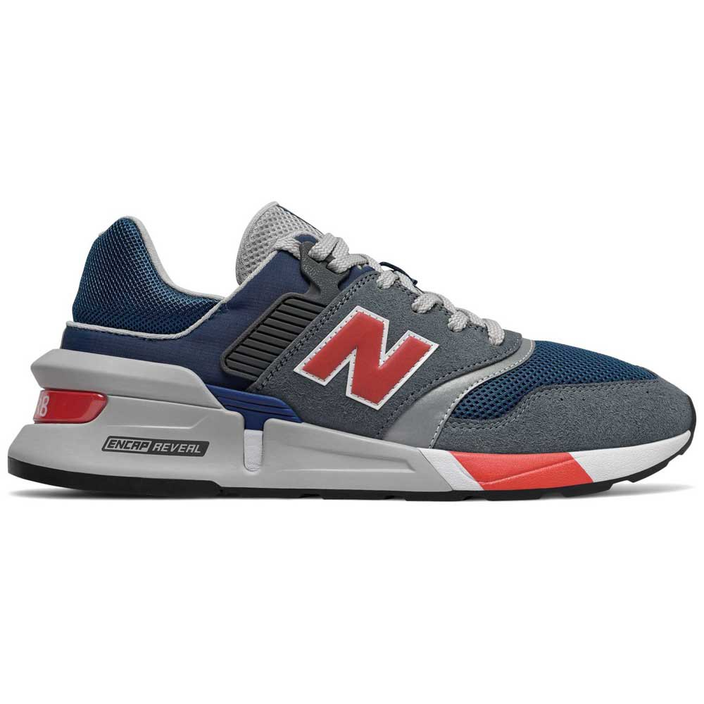 mañana Especialista deseable  New Balance 997 Sport Shoes - NB Dark Blue/Coral Glow | MS997LGS | FOOTY.COM