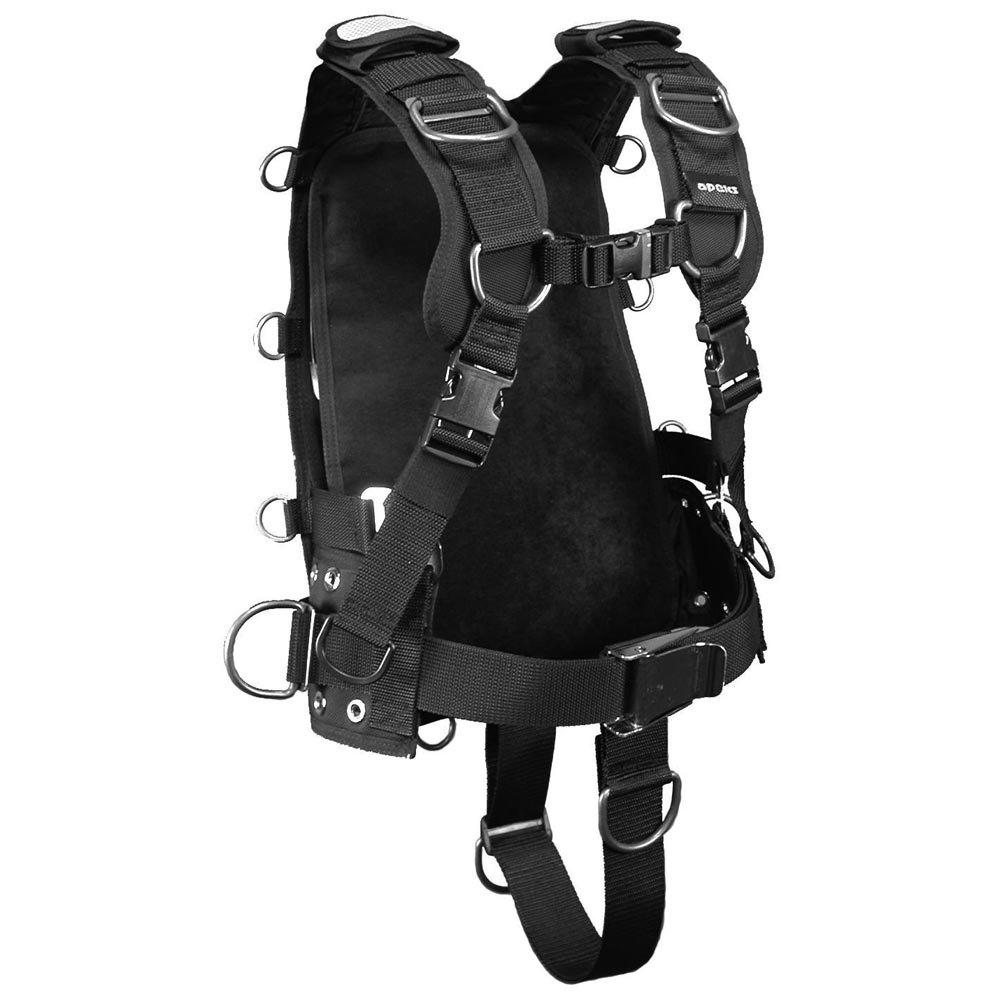 Apeks Wtx Harness M Black Einzelteile Wtx Harness