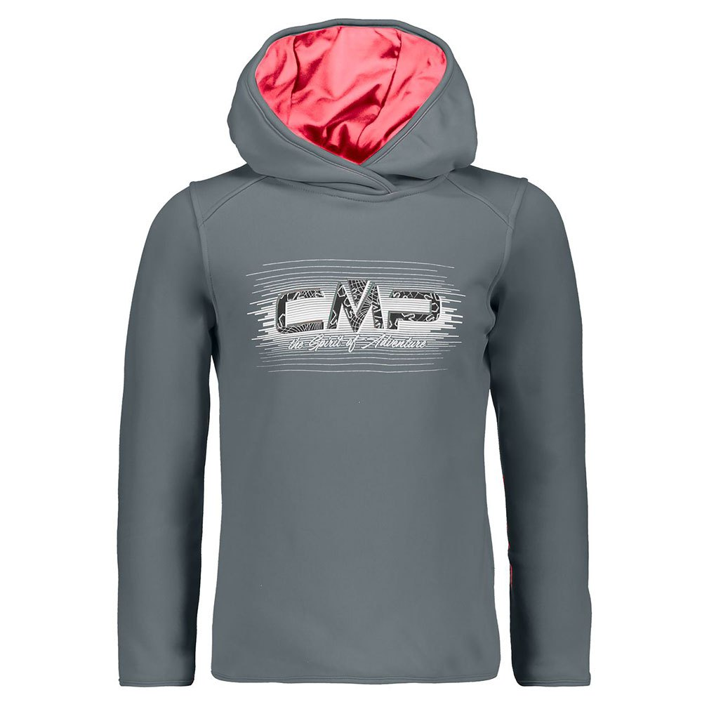 cmp-stretch-sweat-fix-fleece-8-years-graffite