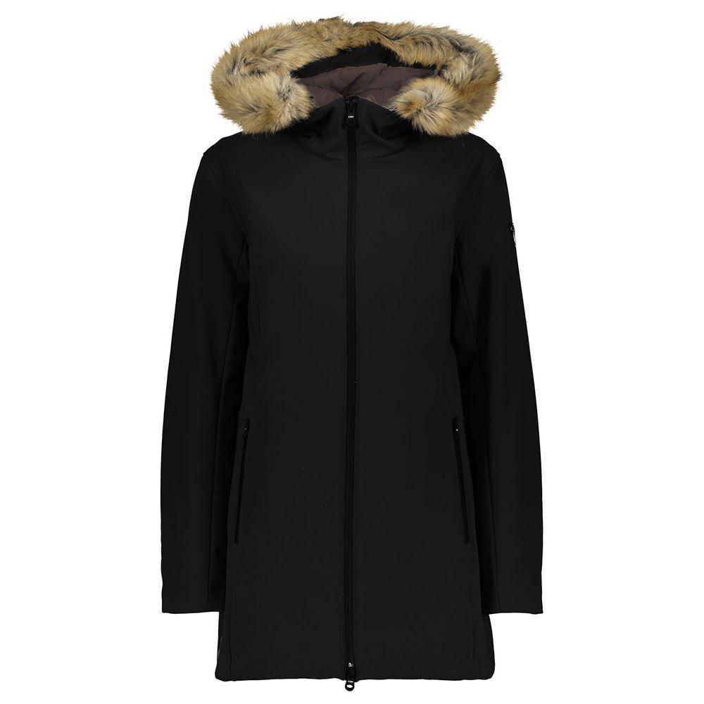 Cmp Sportswear Parka Jacket XXS Black