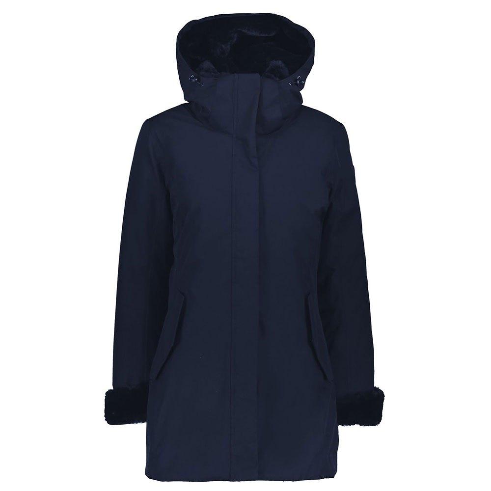 Cmp Sportswear Parka Jacket XS Black Blue