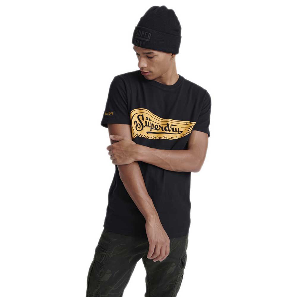 Superdry Merch Store Band XL Black