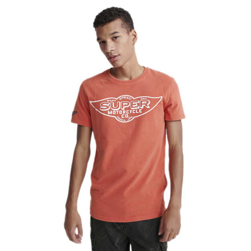 Superdry Merch Store Band L Desert Red