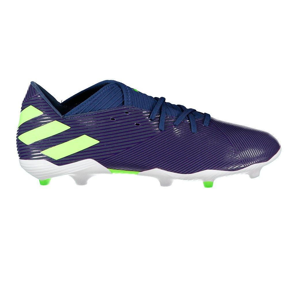 Adidas Nemeziz Messi 19.3 Fg EU 44 Tech Indigo / Signal Green / Glory Purple