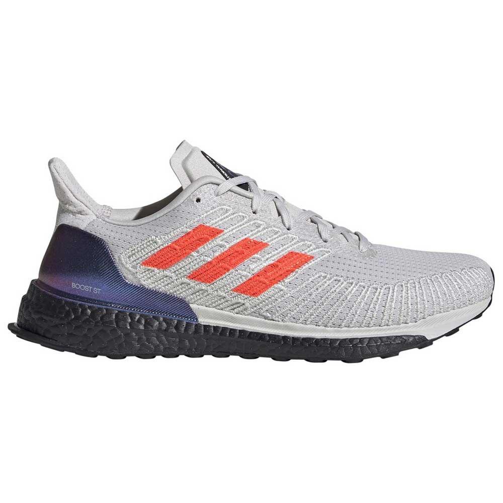 Adidas Solar Boost St EU 41 1/3 Grey One / Solar Red / Footwear White