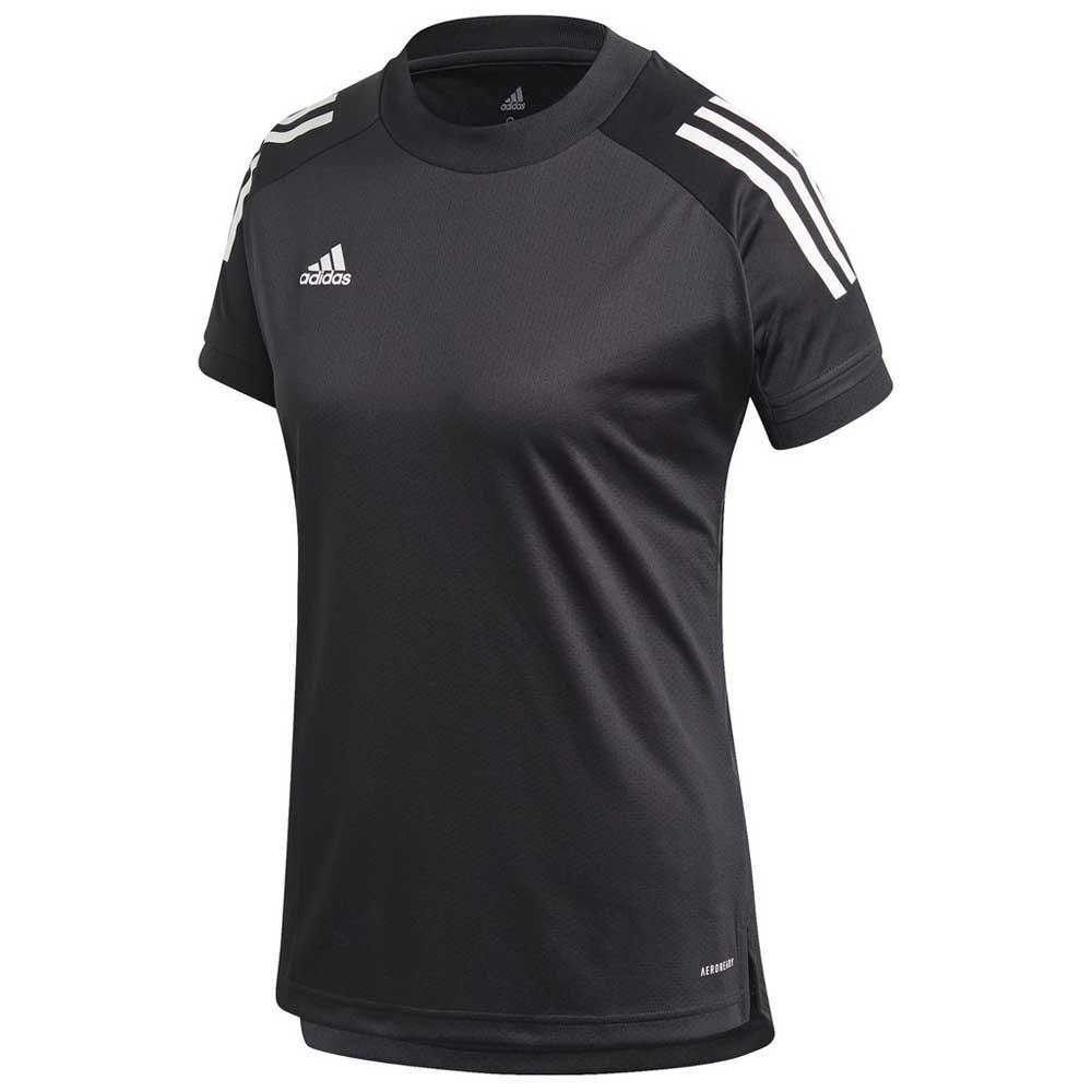 Adidas T-shirt Manche Courte Condivo 20 Training L Black / White