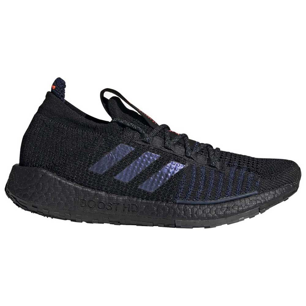 Adidas Pulseboost Hd EU 40 2/3 Core Black / Boost Blue Violet Metal / Dash Grey