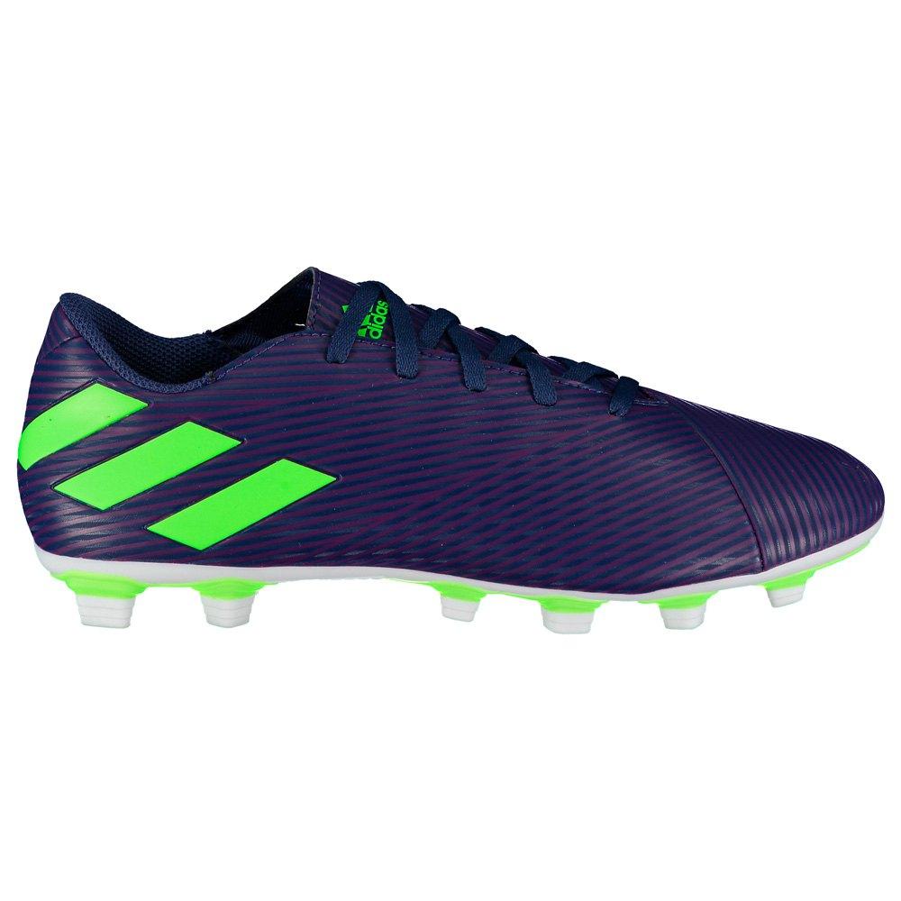 Adidas Nemeziz Messi 19.4 Fxg EU 46 Tech Indigo / Signal Green / Glory Purple