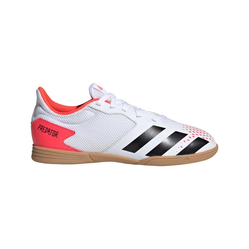 Adidas Chaussures Football Salle Predator 20.4 In EU 35 1/2 Footwear White / Core Black / Pop