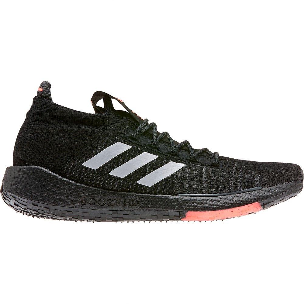 Adidas Pulseboost Hd EU 46 2/3 Core Black / Grey Three / Signal Coral