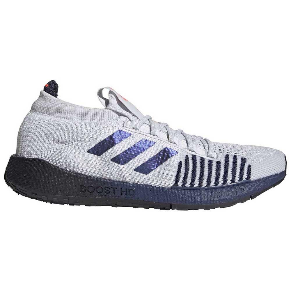 Adidas Pulseboost Hd EU 44 Dash Grey / Boost Blue Violet Metal / Tech Indigo