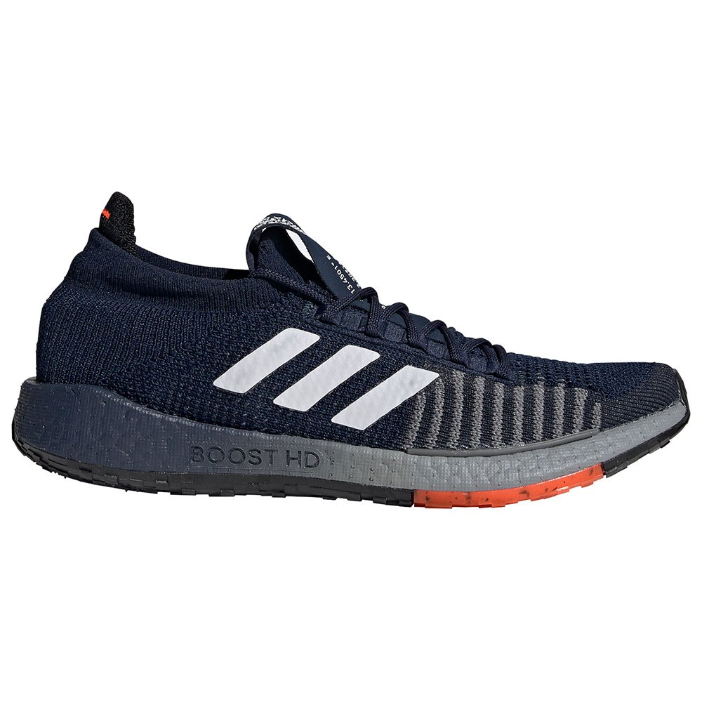 Adidas Pulseboost Hd EU 40 Collegiate Navy / Footwear White / Solar Red