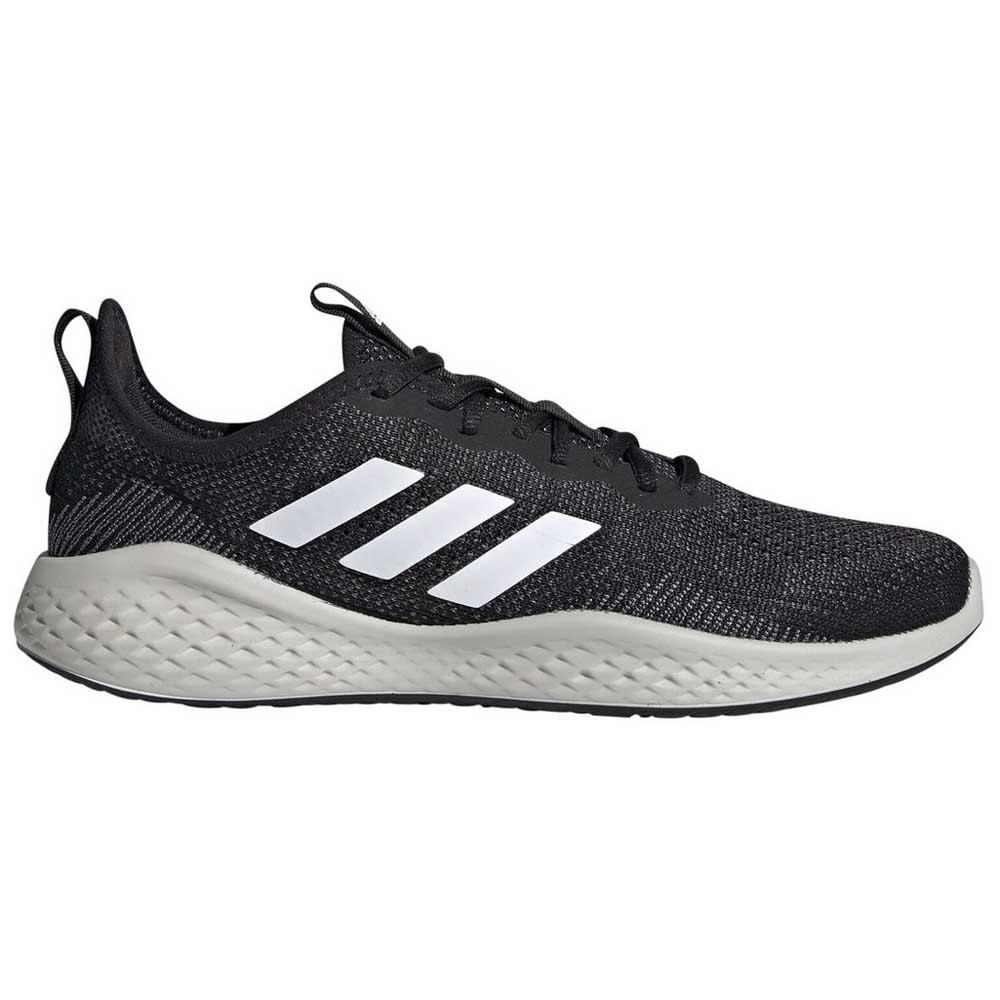 Adidas Fluidflow EU 46 2/3 Core Black / Footwear White / Grey Six