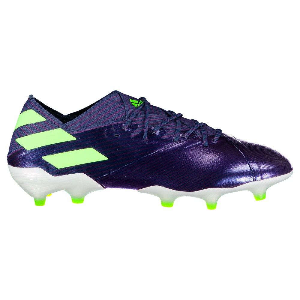 Adidas Nemeziz Messi 19.1 Fg EU 45 1/3 Tech Indigo / Signal Green / Glory Purple