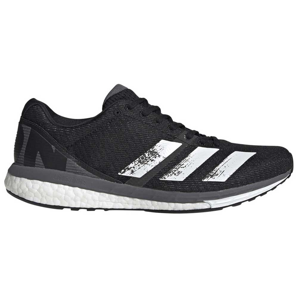 Adidas Adizero Boston 8 EU 42 Core Black / Footwear White / Grey Five