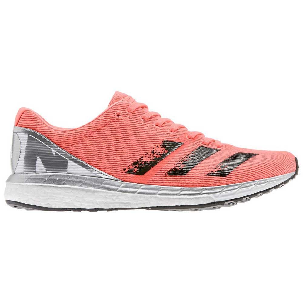 Adidas Adizero Boston 8 EU 41 1/3 Signal Coral / Core Black / Footwear White