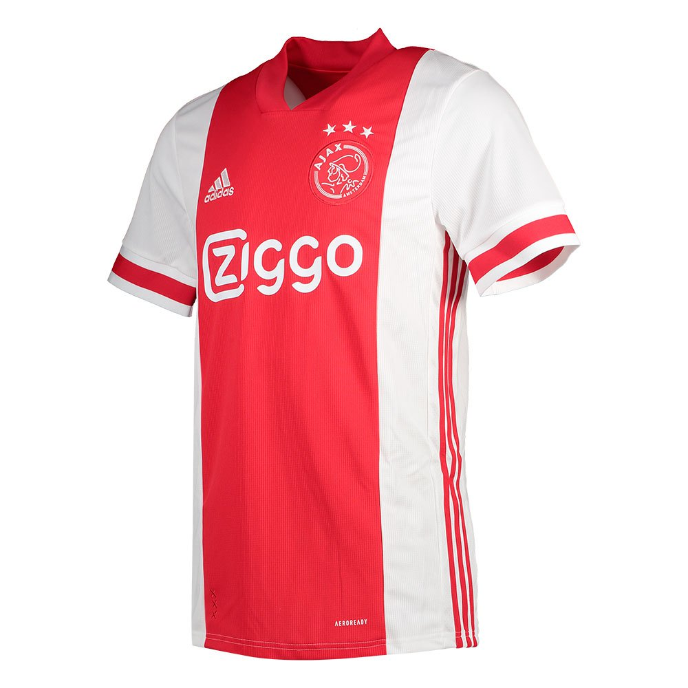 Adidas T-shirt Ajax Domicile 20/21 XXL White / Bold Red