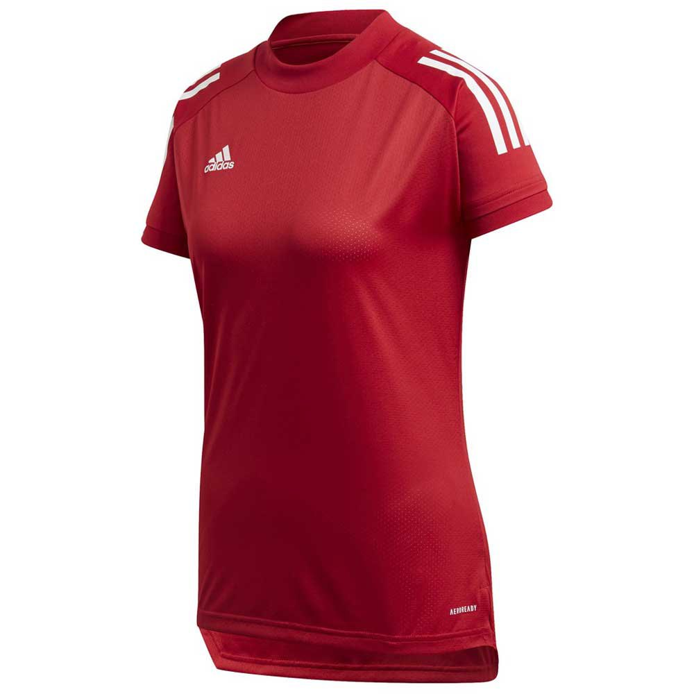 Adidas T-shirt Manche Courte Condivo 20 Training L Team Power Red / White