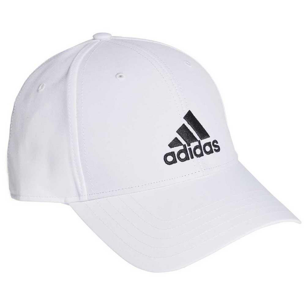 Adidas Baseball Lightweight Embroidered Logo 60 cm White / Black
