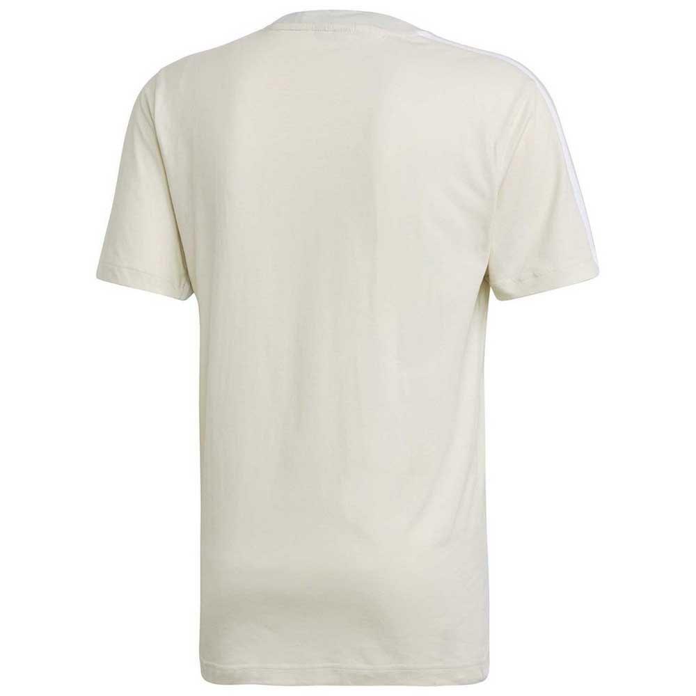 Détails sur Adidas Must Have 3 Stripes Tape Blanc T97620 T Shirts Homme Blanc , T Shirts
